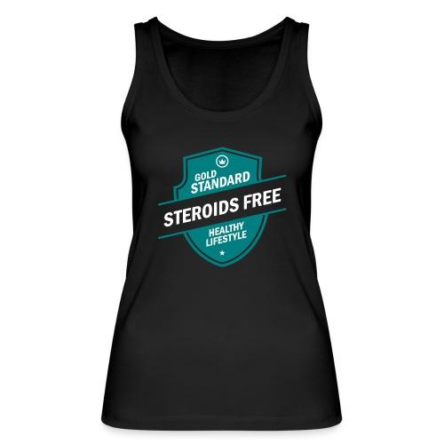 GoldStd-SteroidsFree-33 - Women's Organic Tank Top by Stanley & Stella
