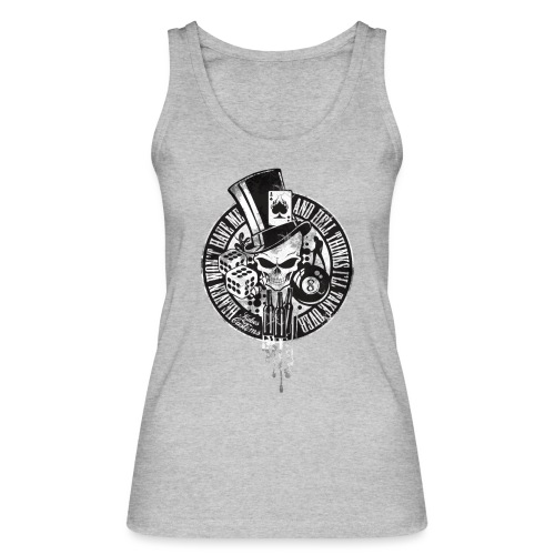 Kabes Heaven & Hell T-Shirt - Women's Organic Tank Top by Stanley & Stella