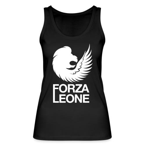 Logo website Forza Leone - Vrouwen bio tanktop van Stanley & Stella