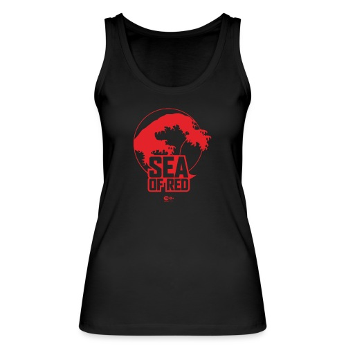 Sea of red logo - red - Women's Organic Tank Top by Stanley & Stella
