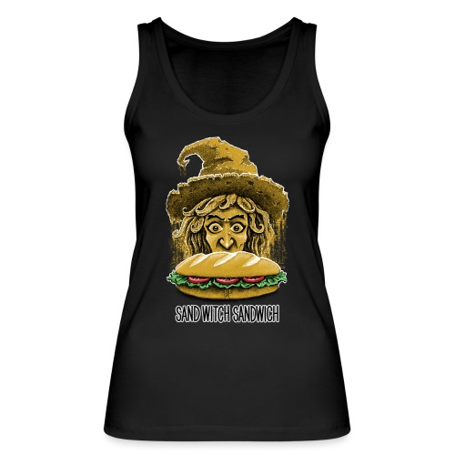 Sand Witch Sandwich V1 - Women's Organic Tank Top by Stanley & Stella