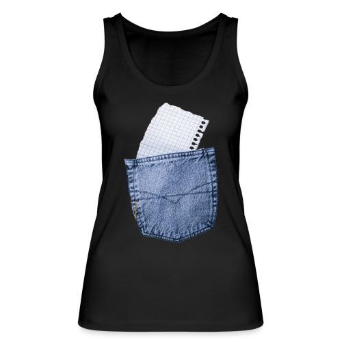 Jeans Baggy by #OneCreativeArts - Frauen Bio Tank Top von Stanley & Stella