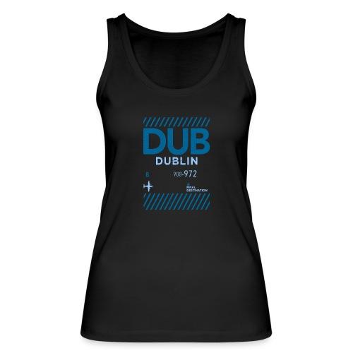 Dublin Ireland Travel - Women's Organic Tank Top by Stanley & Stella