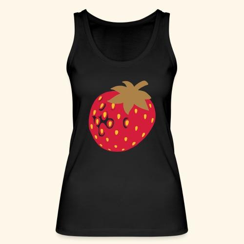 Erdbeere - Frauen Bio Tank Top von Stanley & Stella