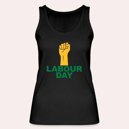 Día del trabajo / Puño en alto - Camiseta de tirantes ecológica mujer de Stanley & Stella