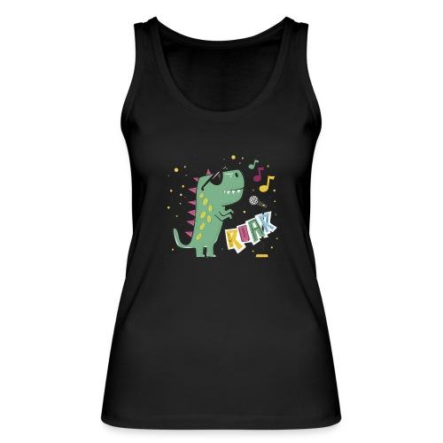 DINO MUSIC 1 - Camiseta de tirantes ecológica mujer de Stanley & Stella