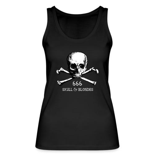 skull & blondes (white) - Frauen Bio Tank Top von Stanley & Stella