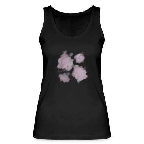 Violet splash chinchilla 2 - Stanley & Stellan naisten luomutanktoppi