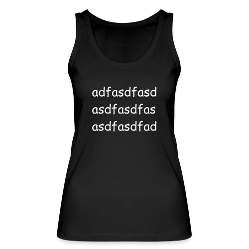 Cami asdf - Camiseta de tirantes ecológica mujer de Stanley & Stella