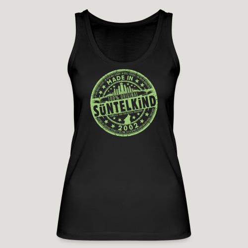 SÜNTELKIND 2002 - Das Süntel Shirt mit Süntelturm - Frauen Bio Tank Top von Stanley & Stella