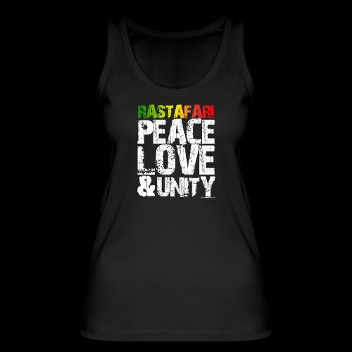 RASTAFARI - PEACE LOVE & UNITY - Frauen Bio Tank Top von Stanley & Stella