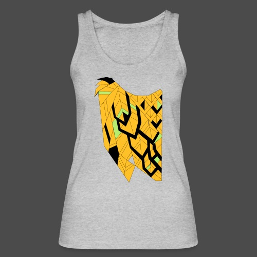 Owl Colour Redraw - Women's Organic Tank Top by Stanley & Stella