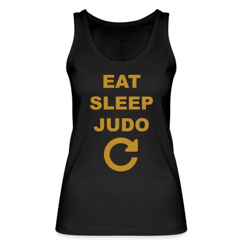 Eat sleep Judo repeat - Ekologiczny top damski Stanley & Stella