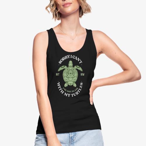 Turtleplans - Stanley & Stellan naisten luomutanktoppi
