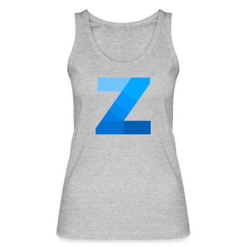 ZettaOS Blue Contrast - Vrouwen bio tanktop van Stanley & Stella