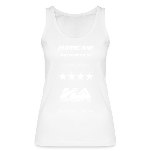 design no workout no gain white - Débardeur bio Femme