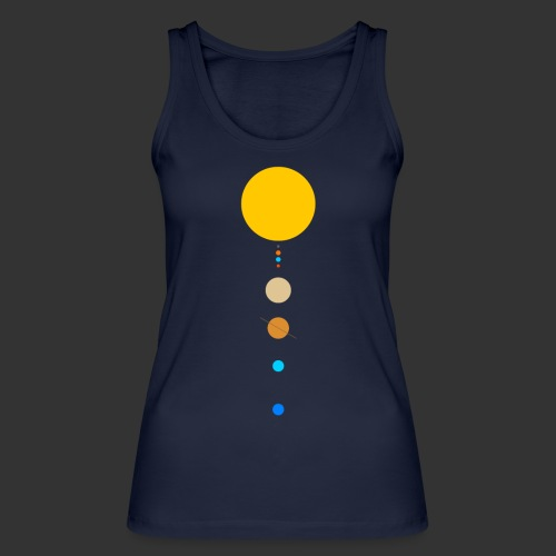 Solar System - Women's Organic Tank Top by Stanley & Stella
