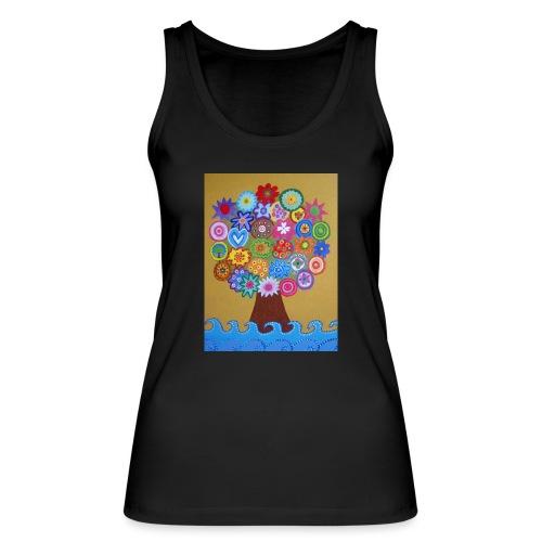 arbol de la vida - Camiseta de tirantes ecológica mujer de Stanley & Stella