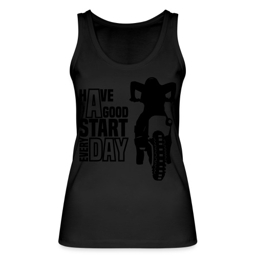Have a good Start MX (HQ) - Frauen Bio Tank Top von Stanley & Stella