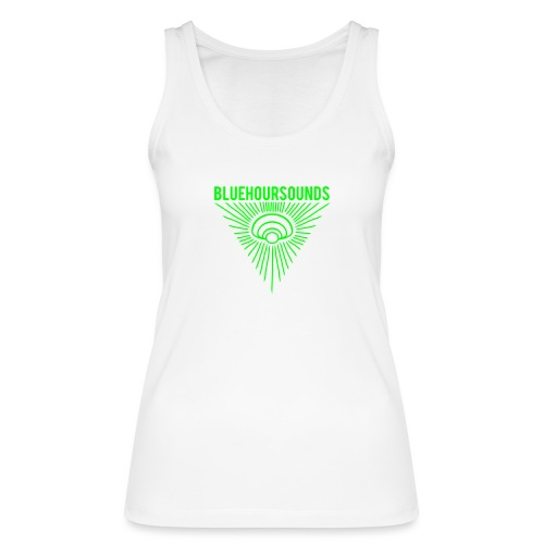 New Blue Hour Sounds logo triangle - Women's Organic Tank Top by Stanley & Stella