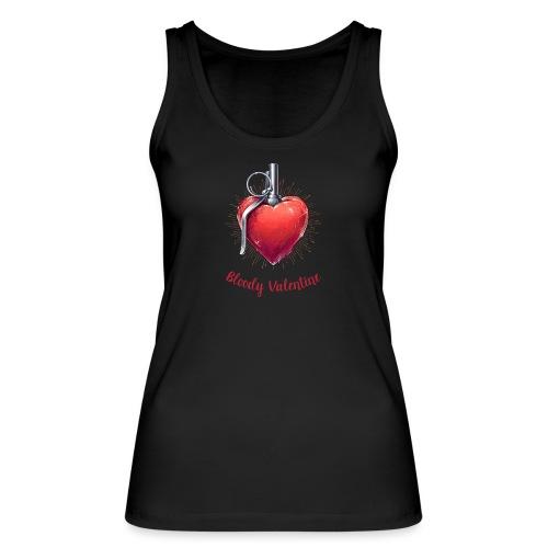 Bloody Valentine Design - Valentinstag Geschenk - Frauen Bio Tank Top von Stanley & Stella