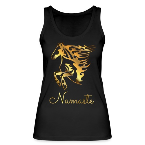 Namaste Horse On Fire - Frauen Bio Tank Top von Stanley & Stella