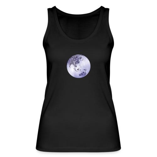 logo monde bleu - Débardeur bio Femme