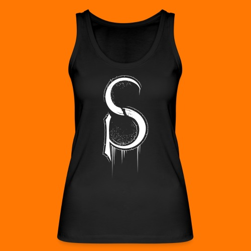 SCP-sign-WHITE transp - Women's Organic Tank Top by Stanley & Stella