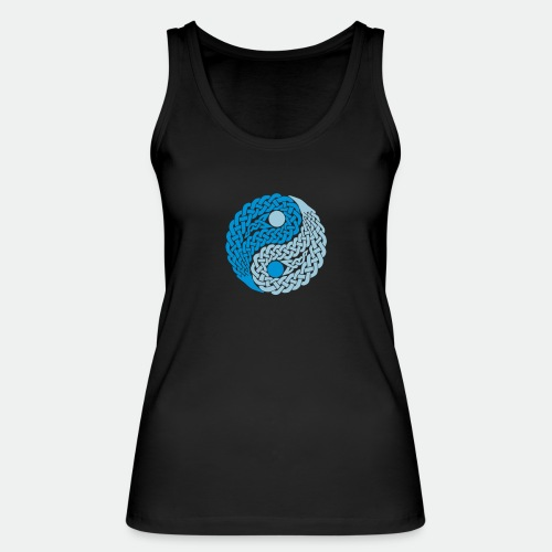 Yin und Yang Keltische Knoten Geschenk Yoga Zen - Women's Organic Tank Top by Stanley & Stella