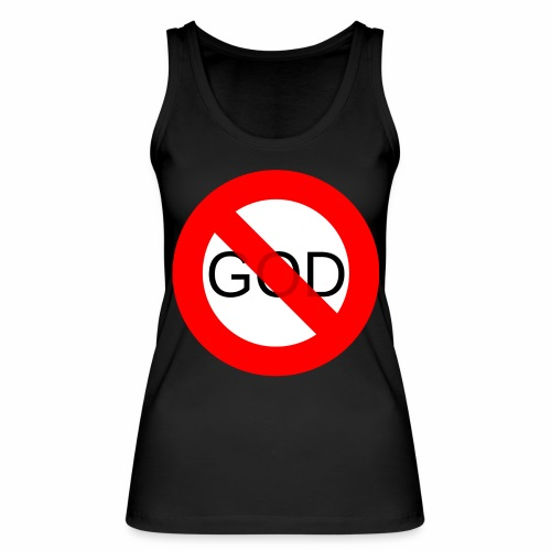 Znak zakazu - No God - Ekologiczny top damski Stanley & Stella