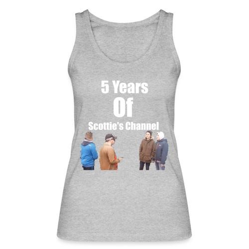 5 Years Of Scottie's Channel - Women's Organic Tank Top by Stanley & Stella