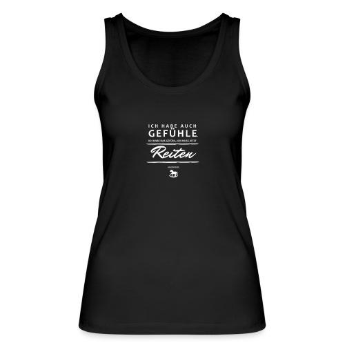 Gefühle - Reiten - Frauen Bio Tank Top von Stanley & Stella