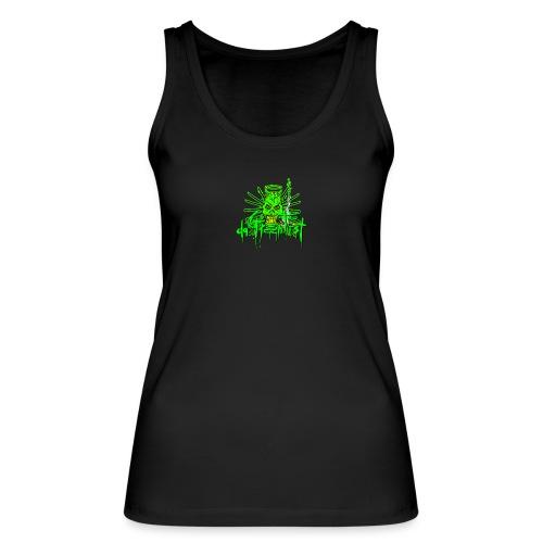 GFSkullOnlyColorShirt - Women's Organic Tank Top by Stanley & Stella