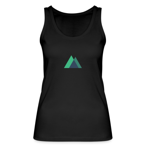 Mountain Logo - Women's Organic Tank Top by Stanley & Stella