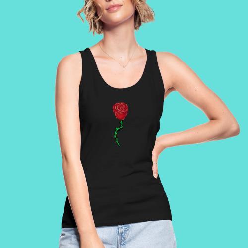 Rose rouge - Débardeur bio Femme