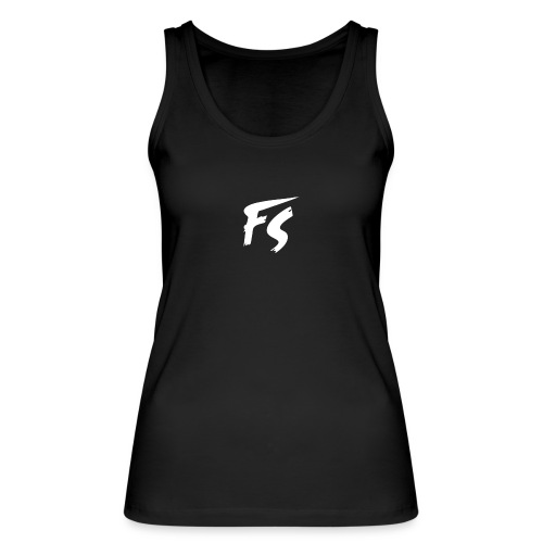 FS Logo wit - Vrouwen bio tanktop van Stanley & Stella