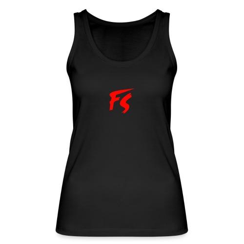 FS Logo rood - Vrouwen bio tanktop van Stanley & Stella