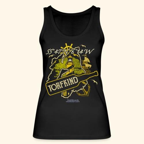 Whisky T Shirt Design Islay Single Malt Peat Torf - Frauen Bio Tank Top von Stanley & Stella
