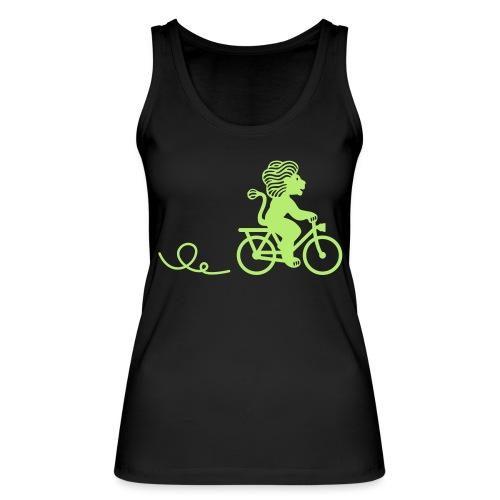 Züri-Leu beim Velofahren ohne Text - Frauen Bio Tank Top von Stanley & Stella