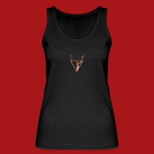 Deer-Head GOLD - Økologisk Stanley & Stella tanktop til damer