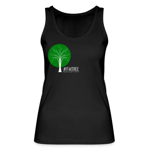 1T41Tree - ein verk. Shirt = ein Baum - Frauen Bio Tank Top von Stanley & Stella