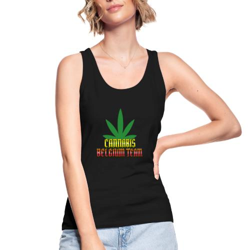 Cannabis Belgium team - Débardeur bio Femme