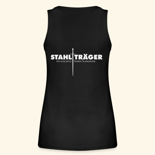 Stahlträger - Frauen Bio Tank Top von Stanley & Stella