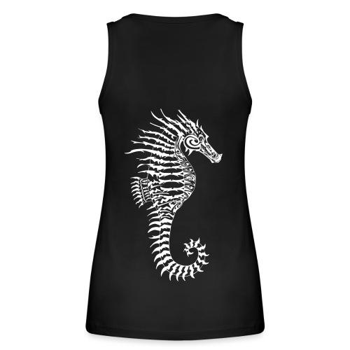 Alien Seahorse Invasion - Women's Organic Tank Top by Stanley & Stella