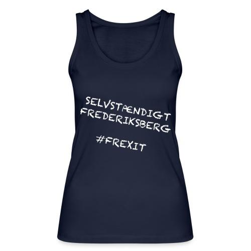 Selvstændigt Frederiksberg #FREXIT - Økologisk Stanley & Stella tanktop til damer