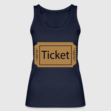 2541614 15474465 ticket - Women's Organic Tank Top by Stanley & Stella