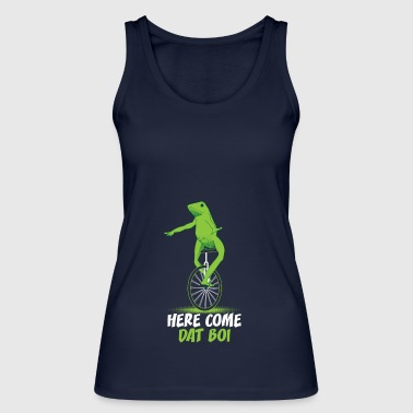 Here Come Dat Boi Animal Frog T-Shirt - Women's Organic Tank Top by Stanley & Stella