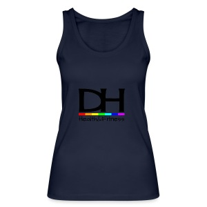 DH Health&Fitness Large logo - Women's Organic Tank Top by Stanley & Stella