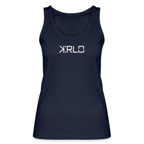 Kirlo Logo Blanco - Camiseta de tirantes ecológica mujer de Stanley & Stella