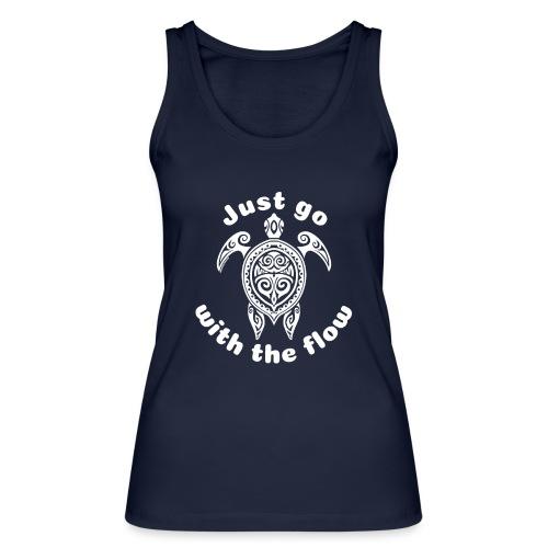 Hawaii Schildkröten-Tribal - Just go with the flow - Frauen Bio Tank Top von Stanley & Stella